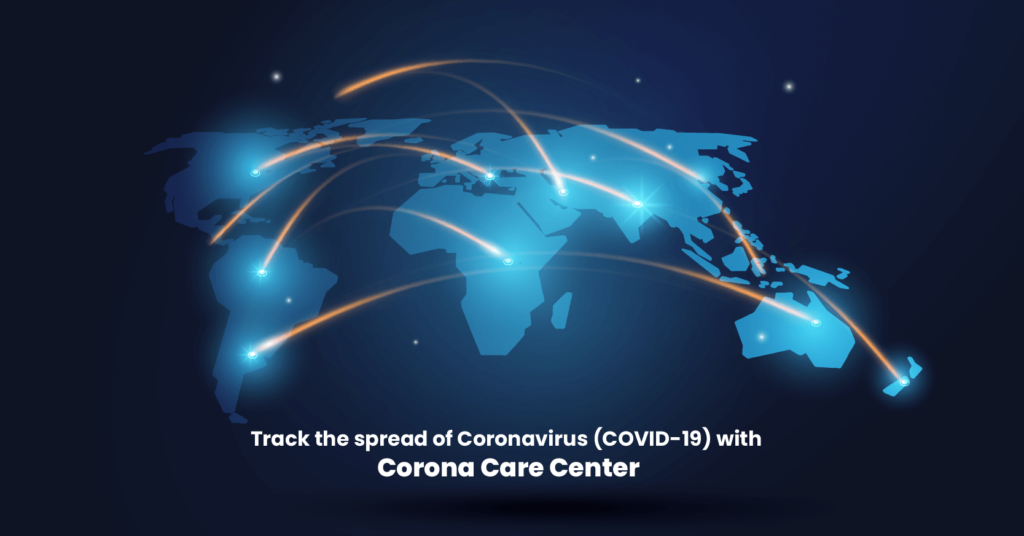 Corona Care Center - Covid19 Tracker